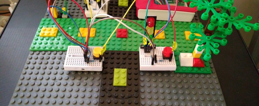 Traffic Light dengan Raspberry Pi