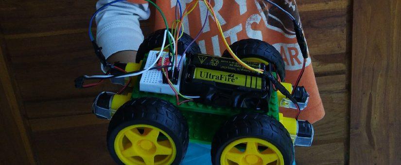 Robot Kuda Percobaan Pertama Kali Aisha